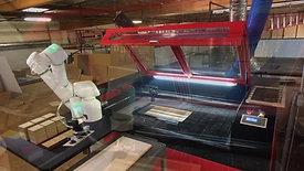 Laser Cutting Robot Arm from Productive Robotics