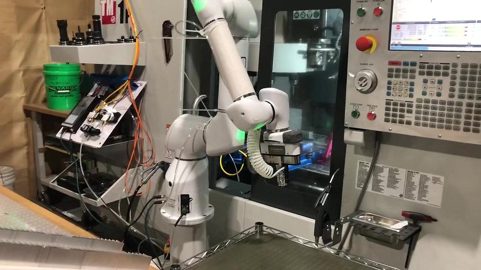 LJB Production Robotic Arm CNC Machining