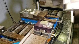 Machine Tending on Haas VF3
