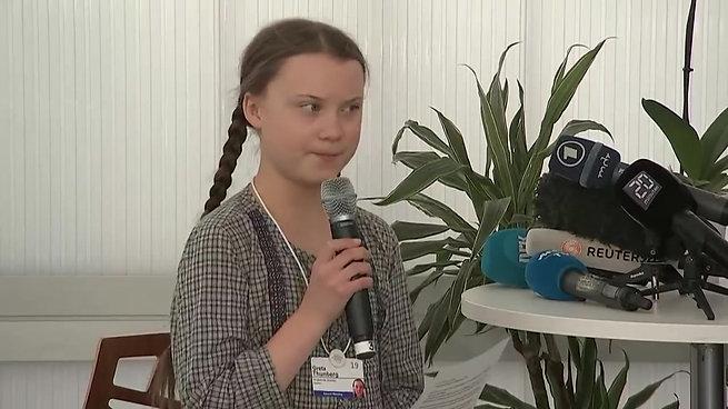 Speech Greta