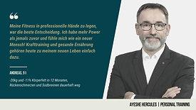 Testimonial Andreas
