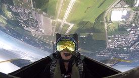 TV Host Cheryl Nelson's U.S. Navy Blue Angels Flight