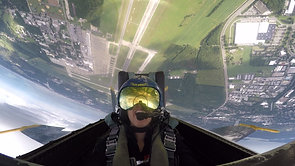 TV Host Cheryl Nelson's U.S. Navy Blue Angels Flight