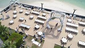 Dubai's biggest wedding - Set Up