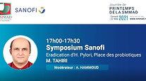 M.TAHIRI - Sympo Sanofi + Discussion