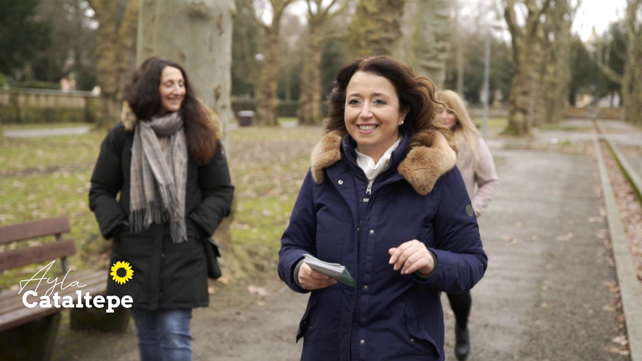 Landtagskandidatin Ayla Cataltepe (B´90/DIEGRÜNEN) - portraitfilm