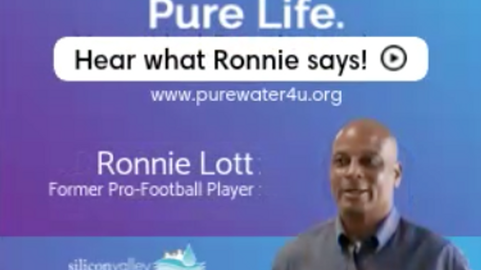 Pure Water. Pure Life. Ads