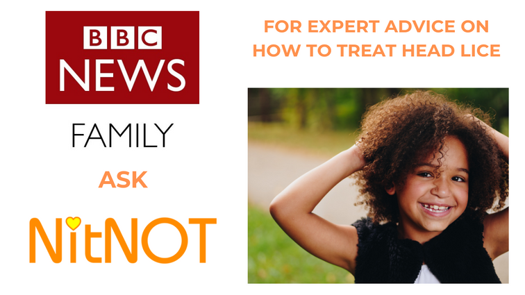 NitNOT founder Eileen Hutchinson advises the BBC on how to treat head lice