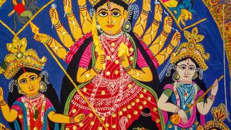 Patachitra Durgas of Hatserandi Virtual Experience
