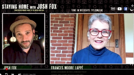 Josh Fox with Frances Moore Lappe and Moumita Ahmed