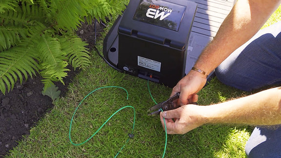 Mowbot Charging Station & Cable Installation