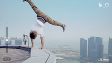Gamblerz Crew - LG Commercial (Hanging Off The Skyscraper!)