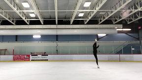 Ice Skating training