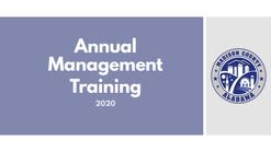 Annual Management Training Short