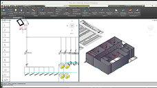 Cálculo de Instalaciones eléctricas Open BIM con Caneco BT - AutoCAD y Schneider Electric