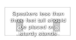 Proper Speaker Placement