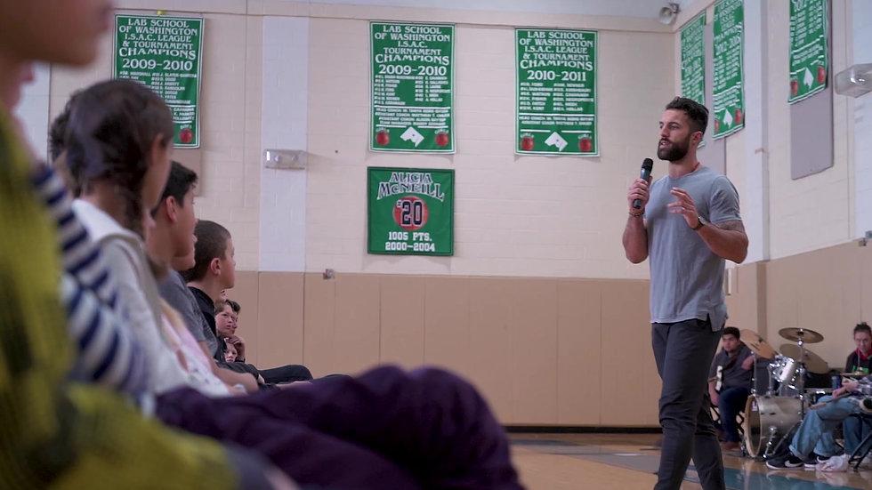 PRF visits Lab School of Washington