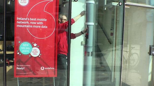 VODAFONE  - Aerocom for Mobile Phone Stores