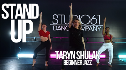 BEGINNER JAZZ WITH TARYN
