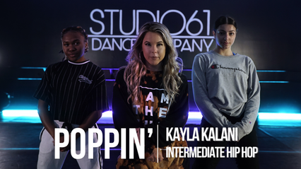 INTERMEDIATE HIP HOP WITH KAYLA