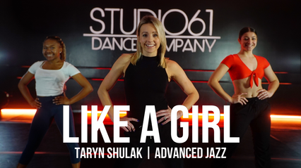 ADVANCED JAZZ WITH TARYN