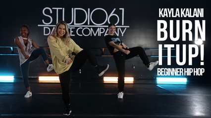 BEGINNER HIP HOP WITH KAYLA