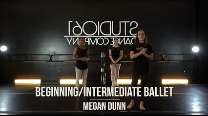 BEGINNING/INTERMEDIATE BALLET WITH MEGAN