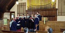 The Choir of Stratford Street United Church: All From the Sun's Uprise