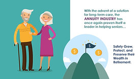 ANNUITIES CAN GIVE YOU A LITTLE EXTRA LTC