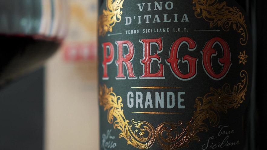 Prego Grande Premio - 1 liter -  Levereras i fin trälåda
