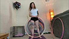 Sara Cole aka Seva Simran | Waist Hula Hooping