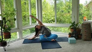 Paige Thatcher | Post Workout Yoga Stretch