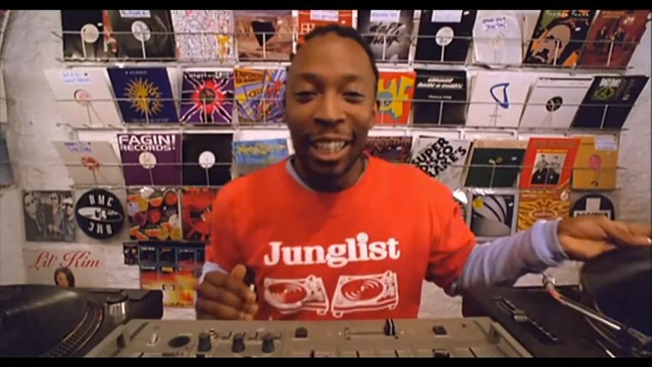 DJ Koop plays Bun Babylon hard in the shop