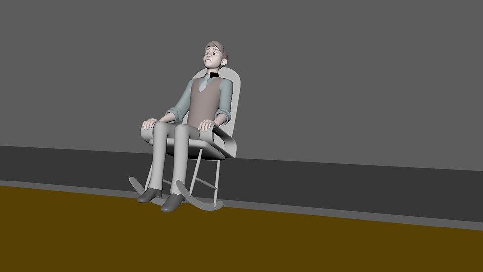 Rocking Chair Fall