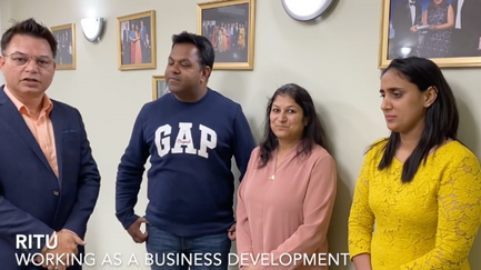 Essential Skills Visa Approved as a Business Development Manager