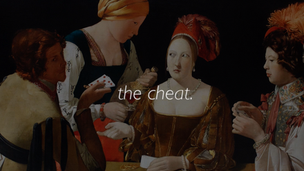 The Cheat (Trailer)