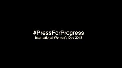 International Women's Day #PressforProgress