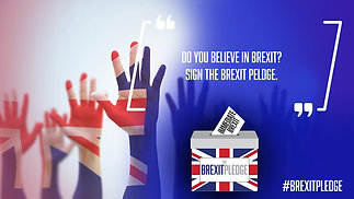 Sign the Brexit Pledge to take back control of...