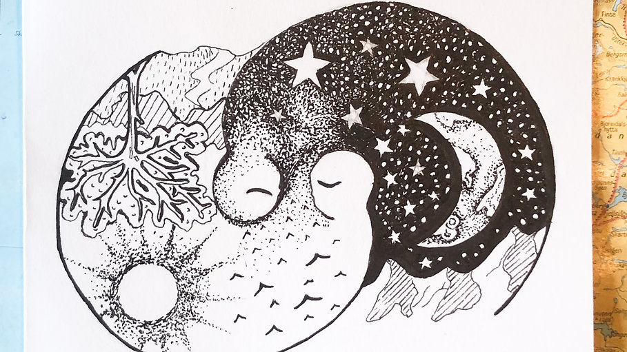 Mindful Pen Drawing - live class recordings