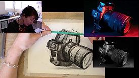camera charcoal