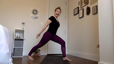 30min Barre Workout Centered Strength