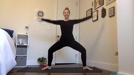 30min Barre Workout Standing Strength & Grace