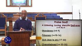 Prasie God for Past Deliverance