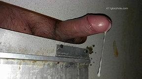 Preview - Making a gloryhole uncut cock cum