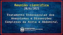 Tratamento endovascular dos aneurismas e dissecções complexas da aorta e abdominal - 280621