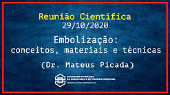 SBACV RS - Embolização - Dr. Mateus Picada - 291020