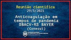 Anticoagulação em tempos de pandemia - Eduardo Ramacciotti