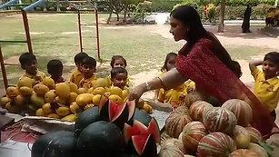 Vegetable Vendor Visit