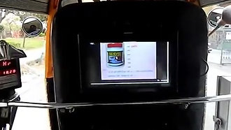 Digital Advertisement APP Loaded Display in Indian Auto