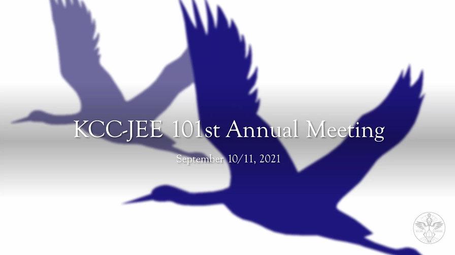 KCC-JEE Annual Meeting 2021